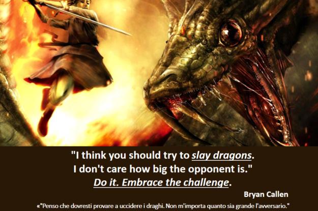 Bryan Callen's quote #Come affronti il tuo drago?