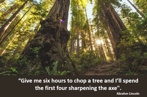 Abrahm Lincoln's quote #Come ti approcci alla soluzione?