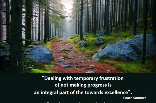 Coach Sommer's Quote #Come gestire la frustrazione temporanea?
