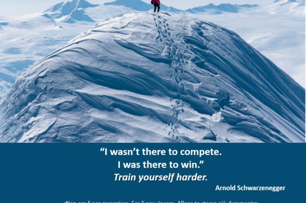 Arnold Schwarzenegger's quote #Come ti alleni per la tua prossima sfida?
